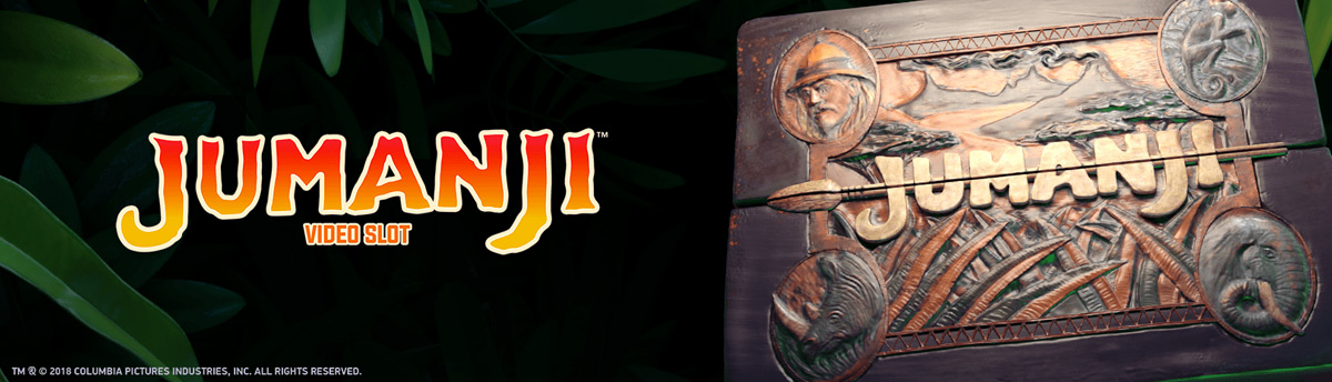 Slot Online JUMANJI: WELCOME TO THE JUNGLE