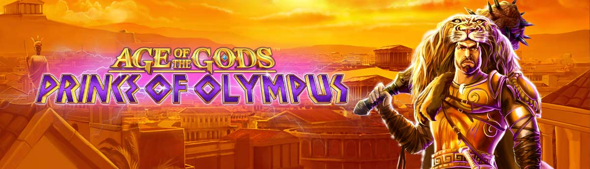 Slot Online AGE OF THE GODS™ PRINCE OF OLYMPUS
