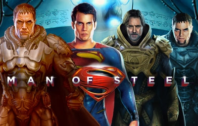 Slot Online MAN OF STEEL
