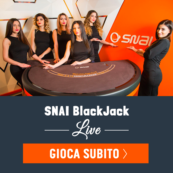 Snai Blackjack live