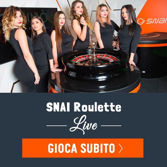 Snai Roulette Live