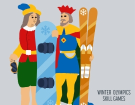 Winter Olympics Skill Games