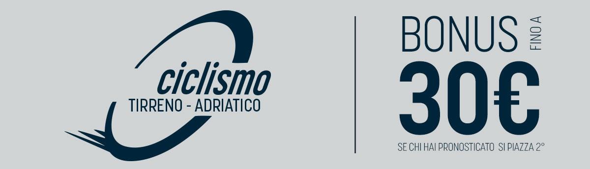 Alla Tirreno-Adriatico, salviamo i secondi!