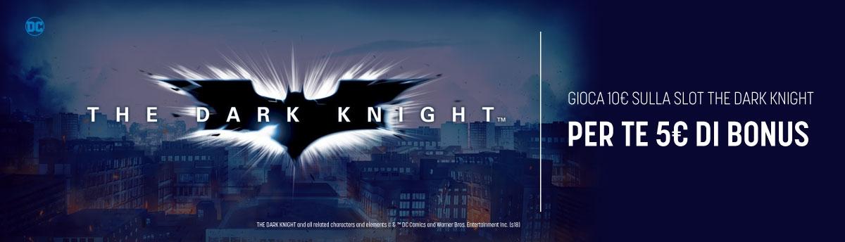 Gioca 10 Prendi 5 con The Dark Knight