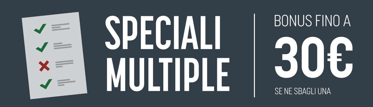 Speciale quadruple!