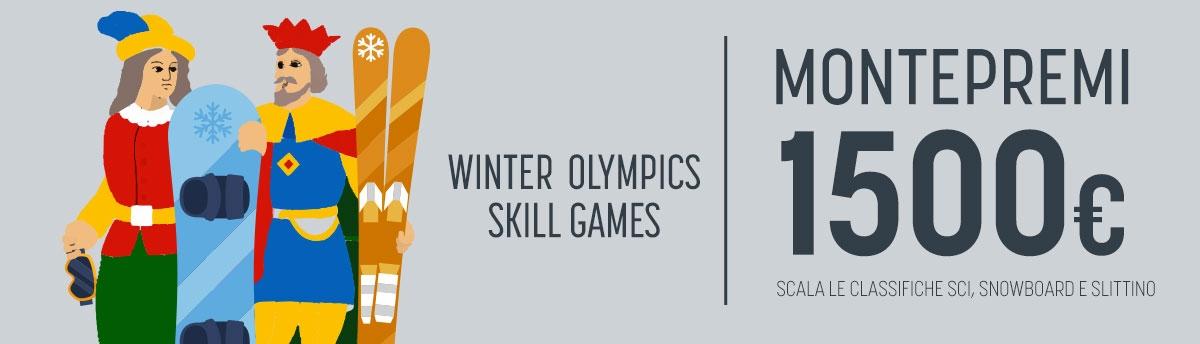 Winter Olympics Skill Games