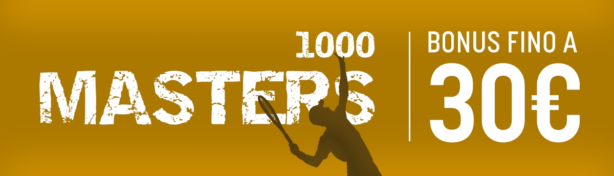 Bonus Tennis sul Master 1000