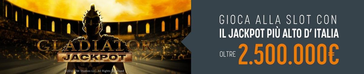 Gladiator Jackpot 2.500.000